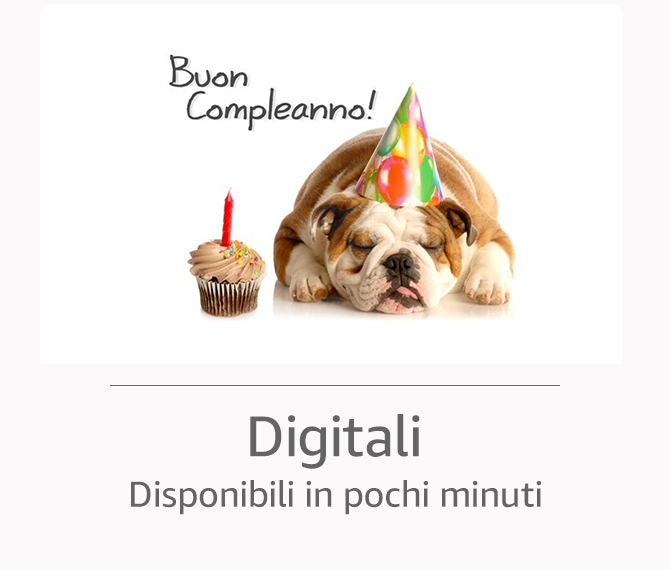Buono Regalo Amazon Digitale
